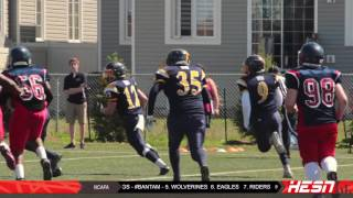 NCAFA 2K16 - BANTAM - Week 1 [ GIANTS VS WARRIORS