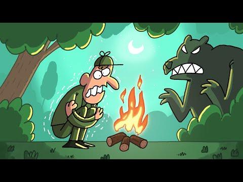 A Cold Night | Cartoon Box 238 by FRAME ORDER | Hilarious hunter cartoon