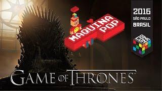 Muito legal esta matéria feita na Comic Con Experience 2016 - HBO Game of Thrones.