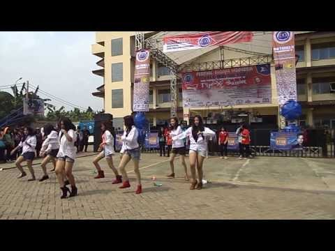 All Story Shuffle & All Story Dance At Pensi Smk Yadika 11