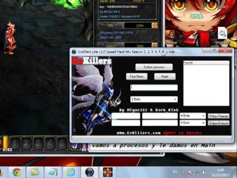 hacker para mu season 4 - Saludos Aqui GzKillers les trae Speed Hack Para todos los versiones de MU espero que lo disfruten wWw.GzKillers.com Expert in cheats By MiguelGz & Dark_KinG.