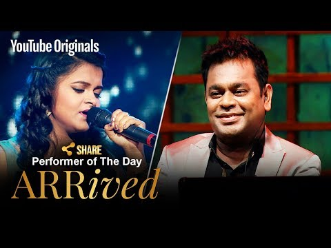 A. R. Rahman | Antara Nandy | Performer Of The Day | #ARRivedSeries