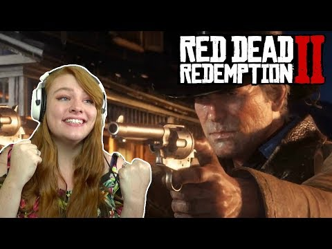 GAME OF THE YEAR? | Red Dead Redemption II FIRST Gameplay Reaction