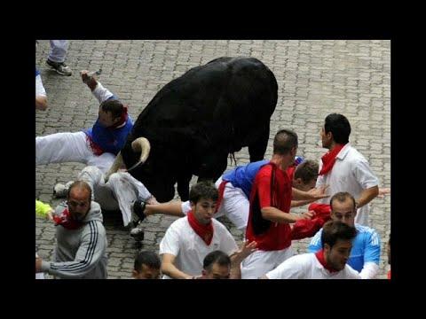 Το τρέξιμο των ταύρων στην Παμπλόνα