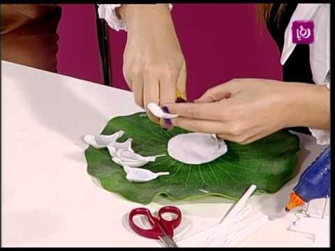 فاي سابا تصنع ورود بلاستيكية للزينة | Roya
