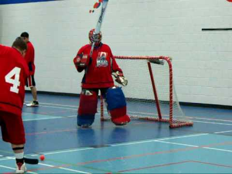 Ball Hockey Goalie Drills
