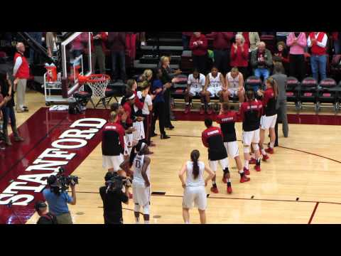 Intro to Stanford versus Tennessee women's basketball, December 21, 2013