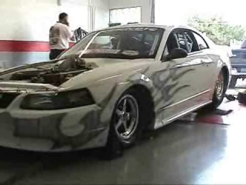 2000 hp mustang dyno breaks dyno