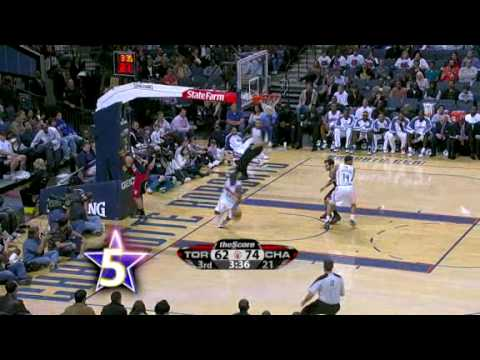 Gerald Wallace's Top 10 Dunks