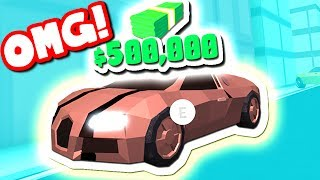 BUYING THE NEW $500,000 BUGATTI (Roblox Jailbreak)