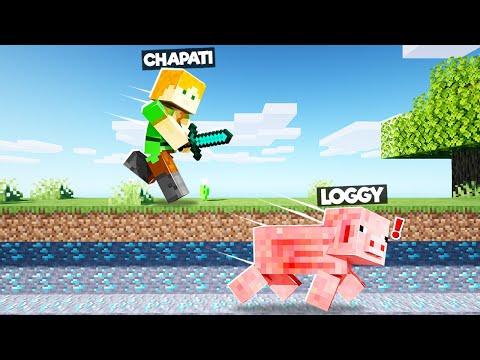 SPEEDRUNNER VS HUNTER AS PIG