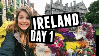 Hey guys! This is the first vlog from my trip to Ireland! I landed in Dublin and explored Trinity College and the area before heading over to meet my friend in ...