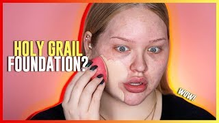 Video HOLY GRAIL FOUNDATION?? Huda Beauty Faux Filter Foundation REVIEW! MP3, 3GP, MP4, WEBM, AVI, FLV Agustus 2018