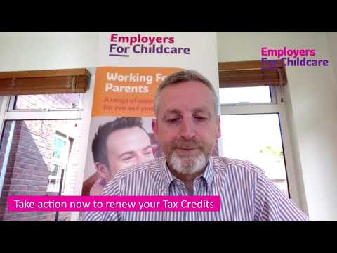 Take action now to renew your Tax Credits