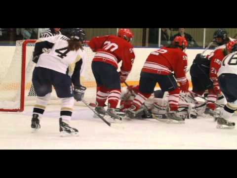 11/6/2010 - Women's Hockey Beats St. Mary's 4-3