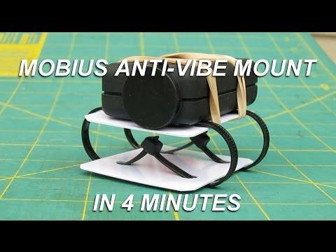 Mobius Anti Vibe mount in 4 min (видео)