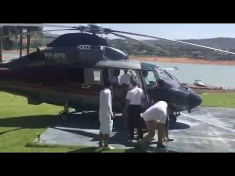 Deputado acusa Pimentel de usar helicóptero do Estado para buscar filho após réveillon