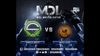 Singularity vs Mad Lads, MDL EU, game 3 [Eiritel, 4ce]