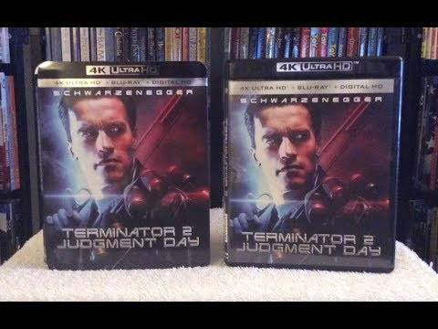 Terminator 2 4K BLU RAY ULTRA HD Unboxing + Review - T2 4K UHD