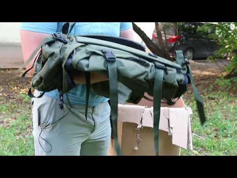 Рюкзак для охоты Nova Tour «Контур 50» V3. Видеообзор.