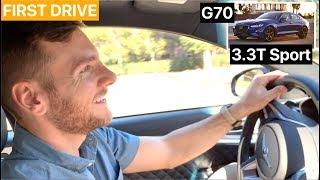 Genesis G70 3.3T Sport FIRST DRIVE by MilesPerHr