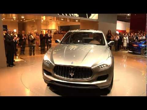 Maserati kubang интерьер фотография