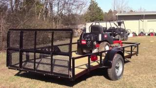1. Toro 74720 TimeCutter SS4200 Utility Trailer Package Deal Review