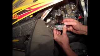 10. Ski-Doo MXZ 600 HO Adrenaline Power Valve Removal and Cleaning