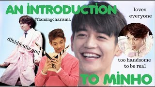 """""""My name is Minho."""" Minho is such a sweetie and should not be judged by the debut era silence SM forced upon him, he is an..."""