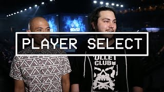 Player Select features pro gamers, talent, and OGs from the floor of EVO 2017. Featuring Jeremy Lopez 'Vicious' & Luis Avila 'Rynge' on Day 3.----------------------------------------------------------------------This is Red Bull eSports; your digital source for the latest news, tournament coverage, interviews, video features, and broadcasts for the Red Bull competitive gaming family.Follow us on Twitter: https://twitter.com/redbullesportsLike Red Bull eSports on Facebook: https://www.facebook.com/redbullesports/Subscribe: http://win.gs/SubToeSports