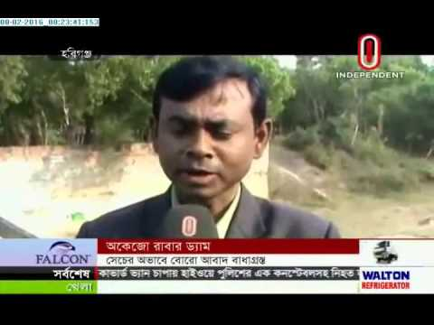 Dysfunctional barrages taking toll on Boro cultivation (08-02-2016)
