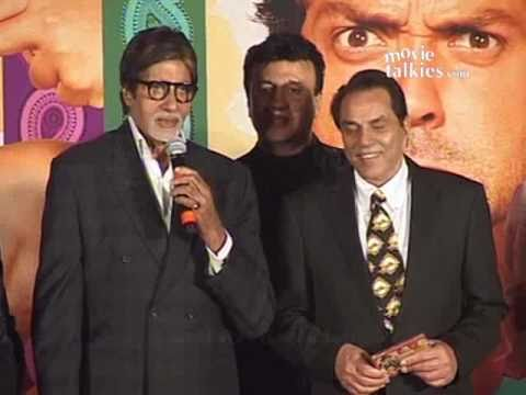 Amitabh: 'Dharmendra's 75, wish him 75 more years in industry!'