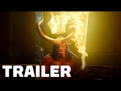 Hellboy - Official Trailer #1 (2019) David Harbour, Milla Jovovich