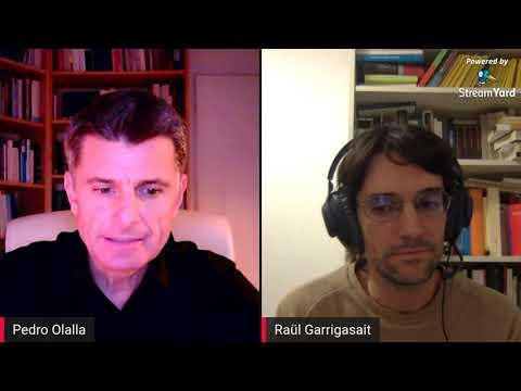 Conversación sobre 'La ira', con Raül Garrigasait y Pedro Olalla, en Youtube