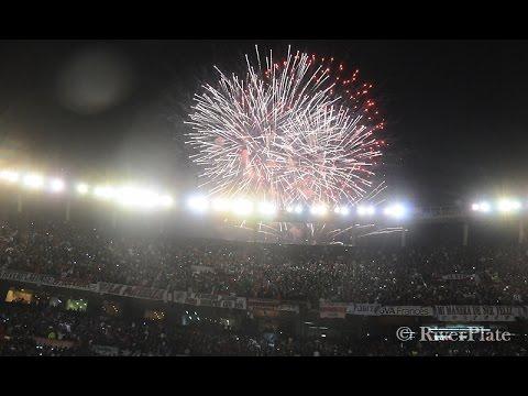 La previa de otra noche de Copa en el Monumental