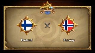 FIN vs NOR, game 1
