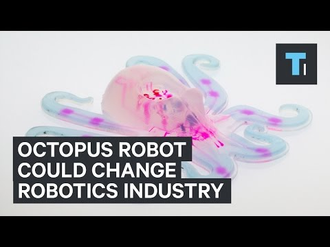 Robot Octopus of the Future