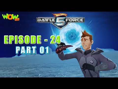 Hot Wheels Battle Force 5 - Mobi 3.0 - Episode 24-P1- in Hindi