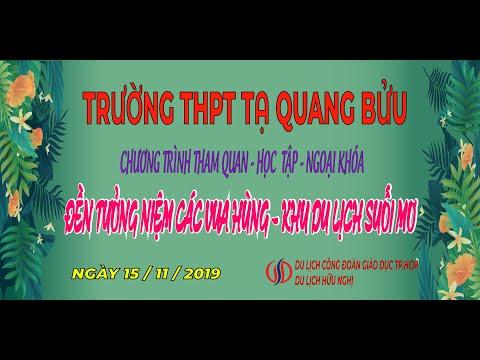 Trường THPT Tạ Quang Bửu - 15/11/2019