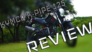 2. The BEST Kymco K-Pipe 125 REVIEW!