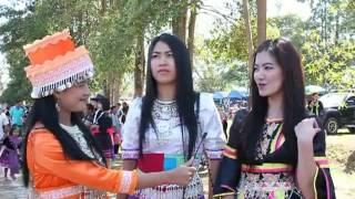 Nan Thailand  city photo : [Hmong Cute Girl's] ep1. Hmong New Year 2013 - Par Krang, Nan Thailand