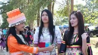 Nan Thailand  City pictures : [Hmong Cute Girl's] ep1. Hmong New Year 2013 - Par Krang, Nan Thailand