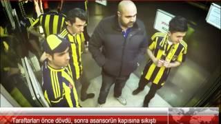 Asansörde  Gs -  Fb Taraftar şakası