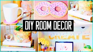Diy room decor desk decorations cheap cute projects for Room decor youtube channel