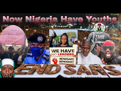 Nigerians  Protest  On Ending  Police  KILLING IN NIGERIA Live