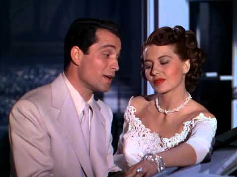 Cyd Charisse w/ Perry Como (1948) Words And Music [Blue Room]