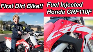 2. First Dirt Bike CRF110 Fuel Injected Pit Bike