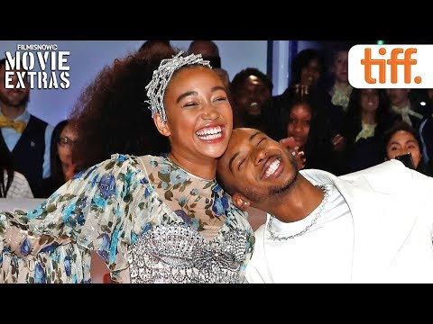 THE HATE U GIVE | Toronto International Film Festival (TIFF) red carpet & cast interview