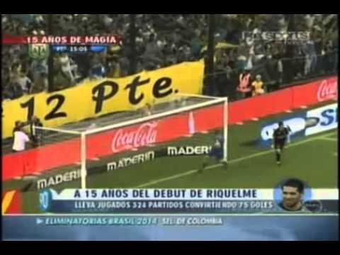 Video Juan Roman Riquelme 15 a�os de Riquelme