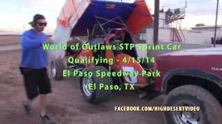 World of Outlaws Qualifying - EPSP 4/15/14